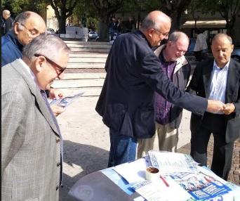PD di Avezzano in piazza per incontrare ed ascoltare le persone