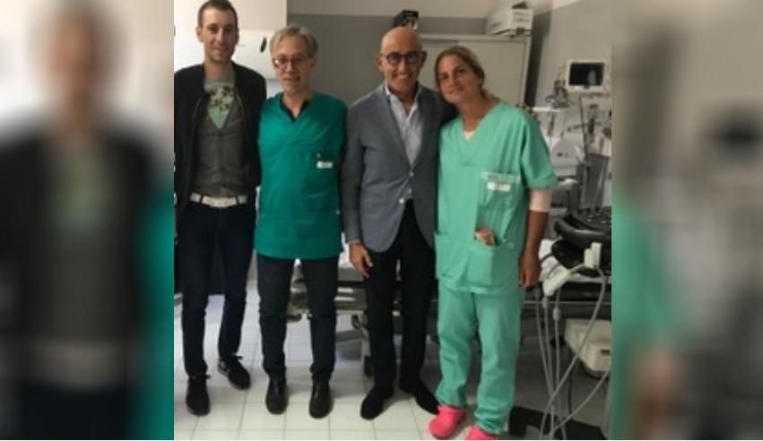 Il numero uno del ciclismo italiano, Vincenzo Nibali, sceglie L'Aquila per le cure del dolore