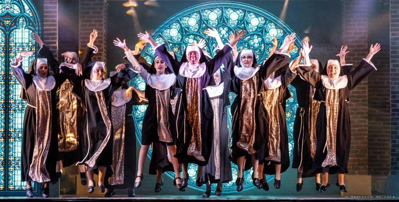 """""""Il nostro travolgente Sister Act"""" arriva al Teatro dei Marsi, tutto pronto per il musical più coinvolgente della Marsica"""