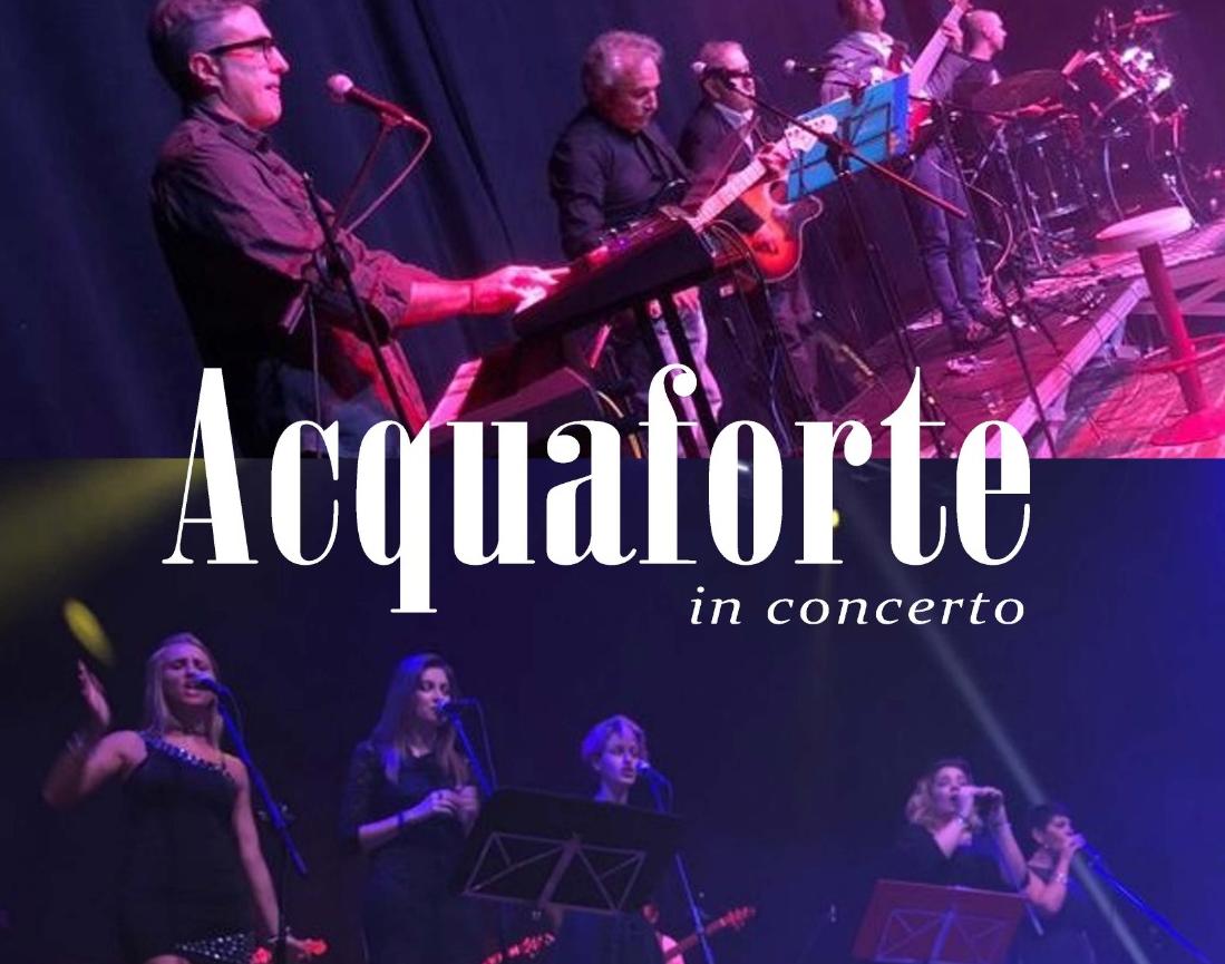Gli Acquaforte in concerto in Friuli per il secondo anno di fila, la band celanese suonerà di nuovo a Palmanova