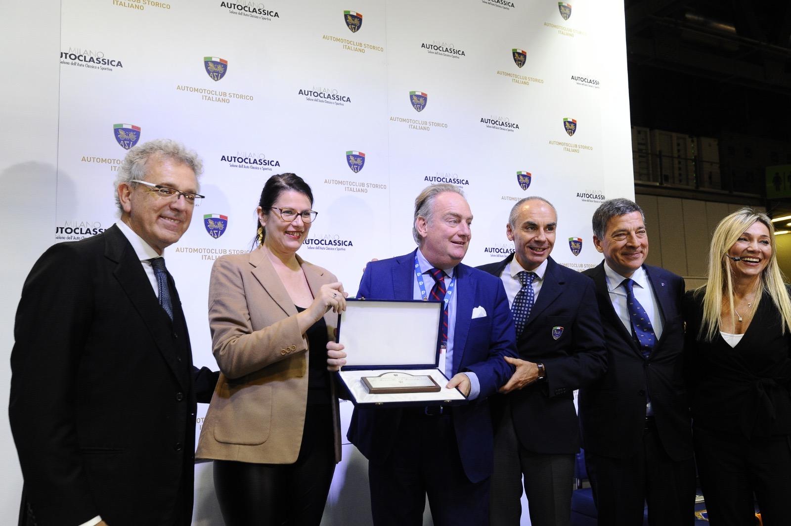 Il Circuito di Avezzano premiato tra le migliori manifestazioni turistiche d'Italia per Auto d'Epoca