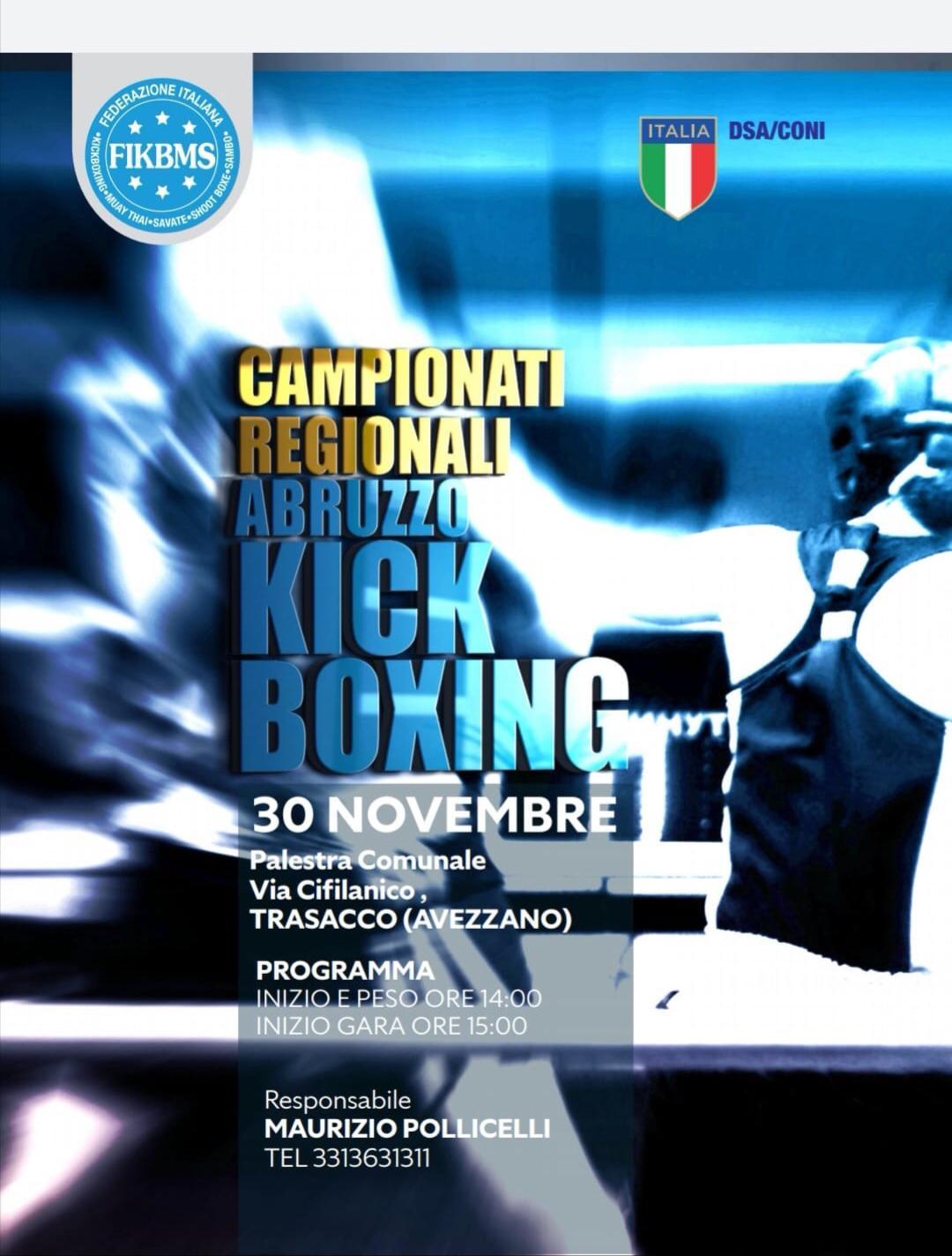 Qualificazioni Campionato di kickboxing a Trasacco