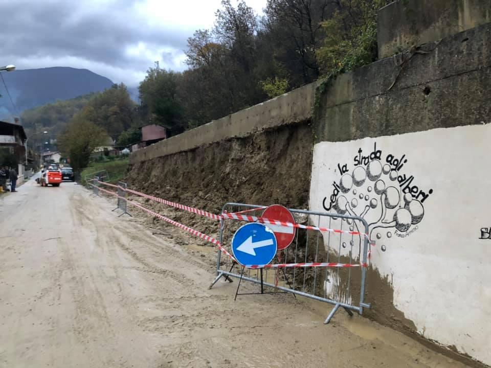 Ripristinata la viabilità della strada tra Grancia e Morino
