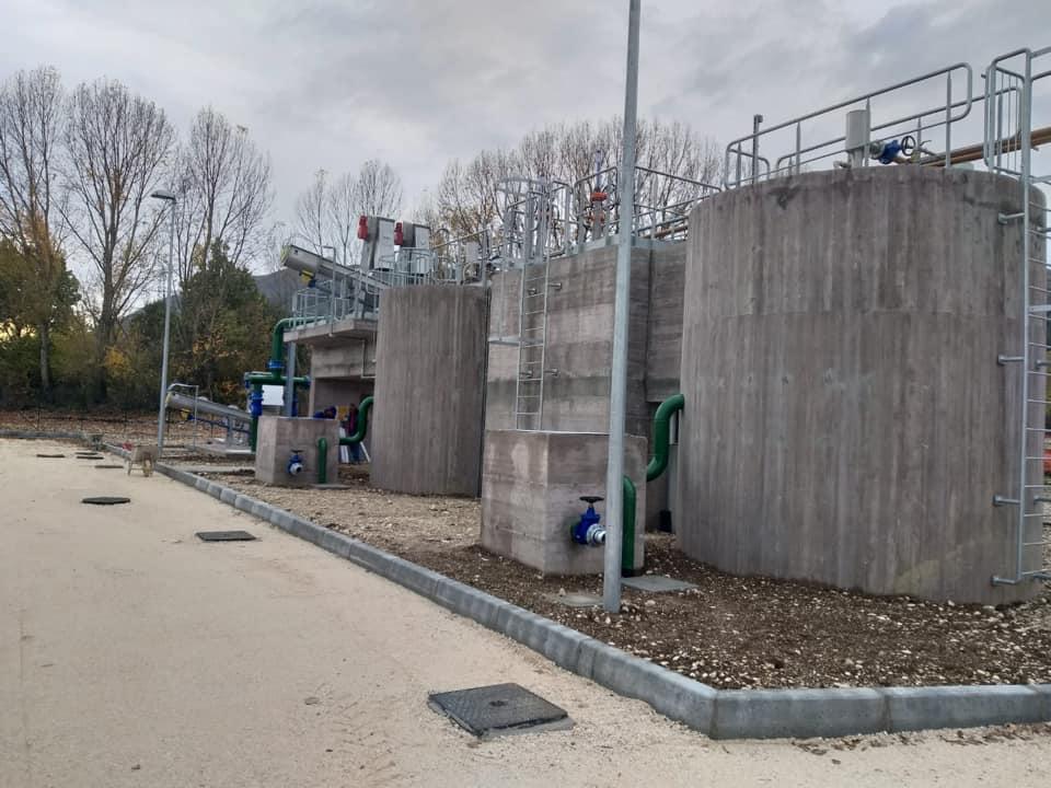 """In fase di completamento i lavori del nuovo impianto di depurazione """"Rio Pago"""" a Celano"""