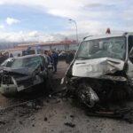 Grave incidente sulla SP 20 Marruviana, tre veicoli coinvolti