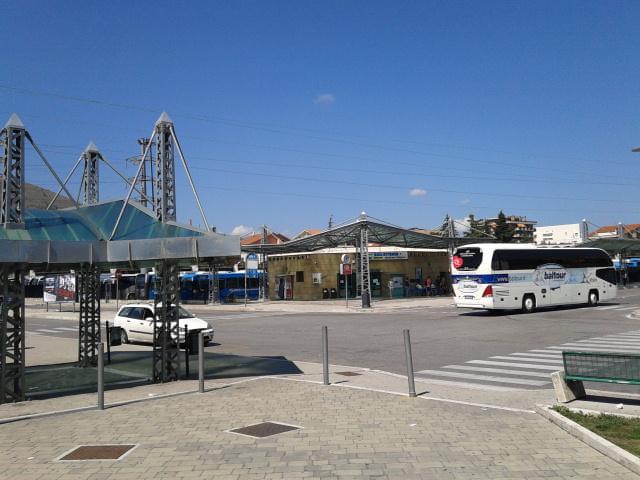 Piazzale kennedy, tutto pronto per il nuovo terminal Autobus ad Avezzano