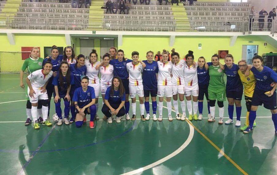 Calcio a 5 femminile, prima sconfitta per La Fenice. Domenica prossima il derby avezzanese
