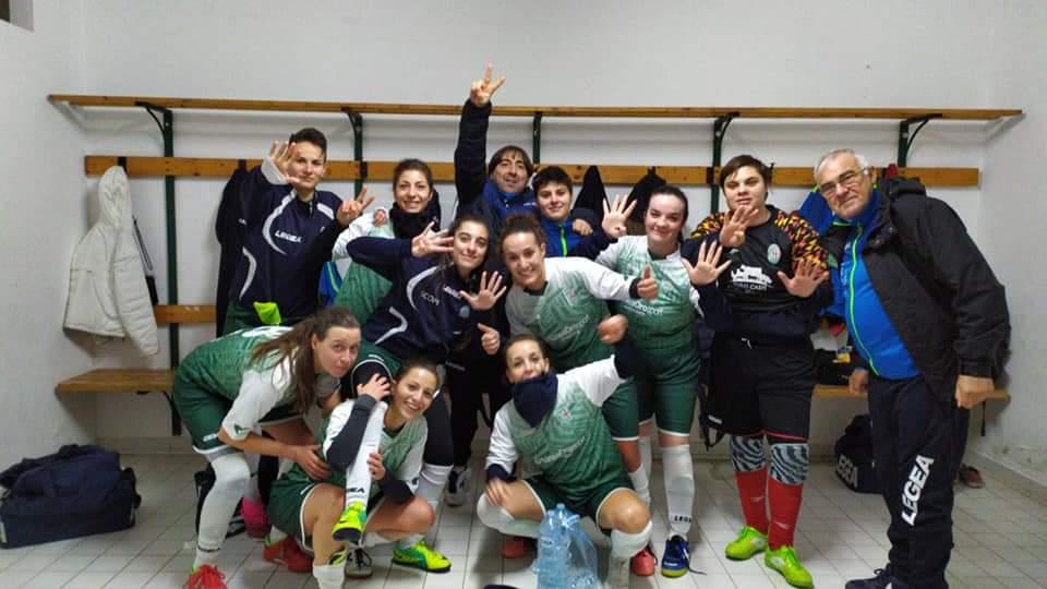 Calcio a 5 femminile: Orione inarrestabile, vince e sogna