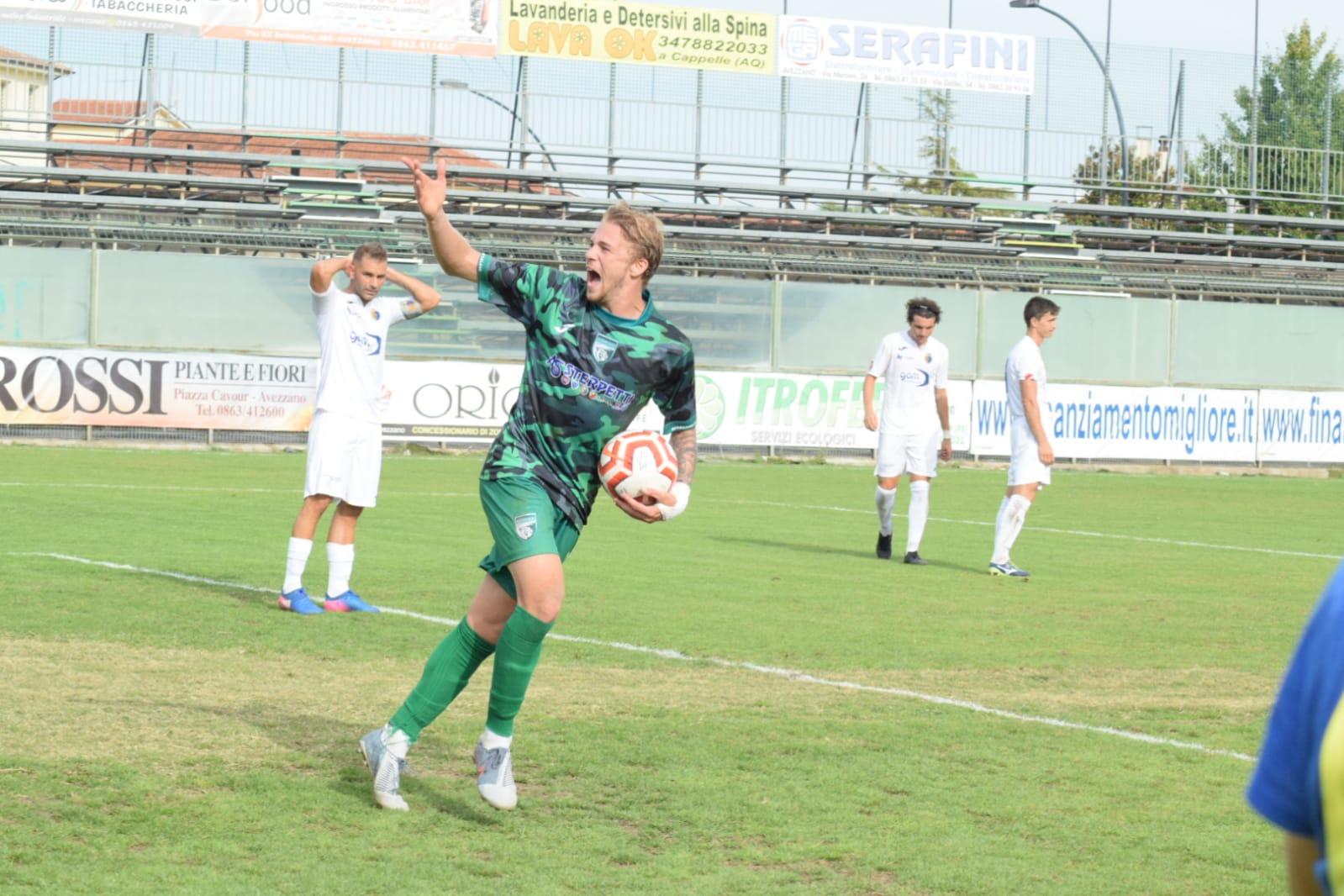 Succede di tutto all'Avezzano Calcio: prestazione deludente e sconfitta ad Agnone, Franchi fuori rosa e ritorno di Di Curzio