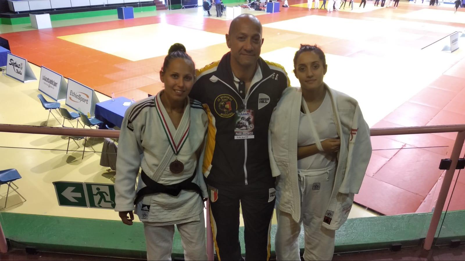 Primo e secondo posto per le atlete marsicane Eleonora Di Vincenzo e Matilde Chiarilli al Trofeo della Capitale (G.P. SE-JU)