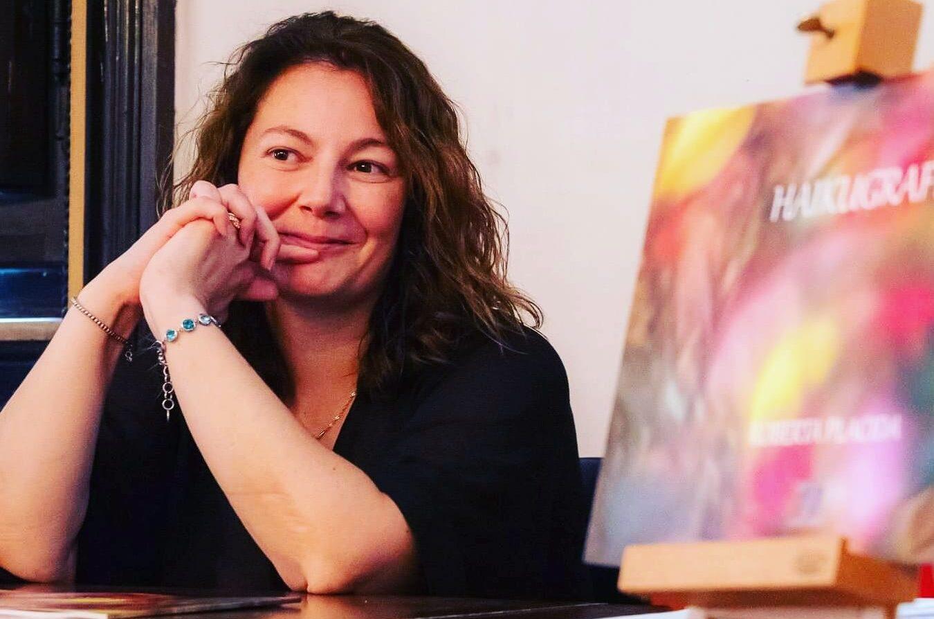 Haikugrafia al caffè letterario Vieniviaconme con Roberta Placida