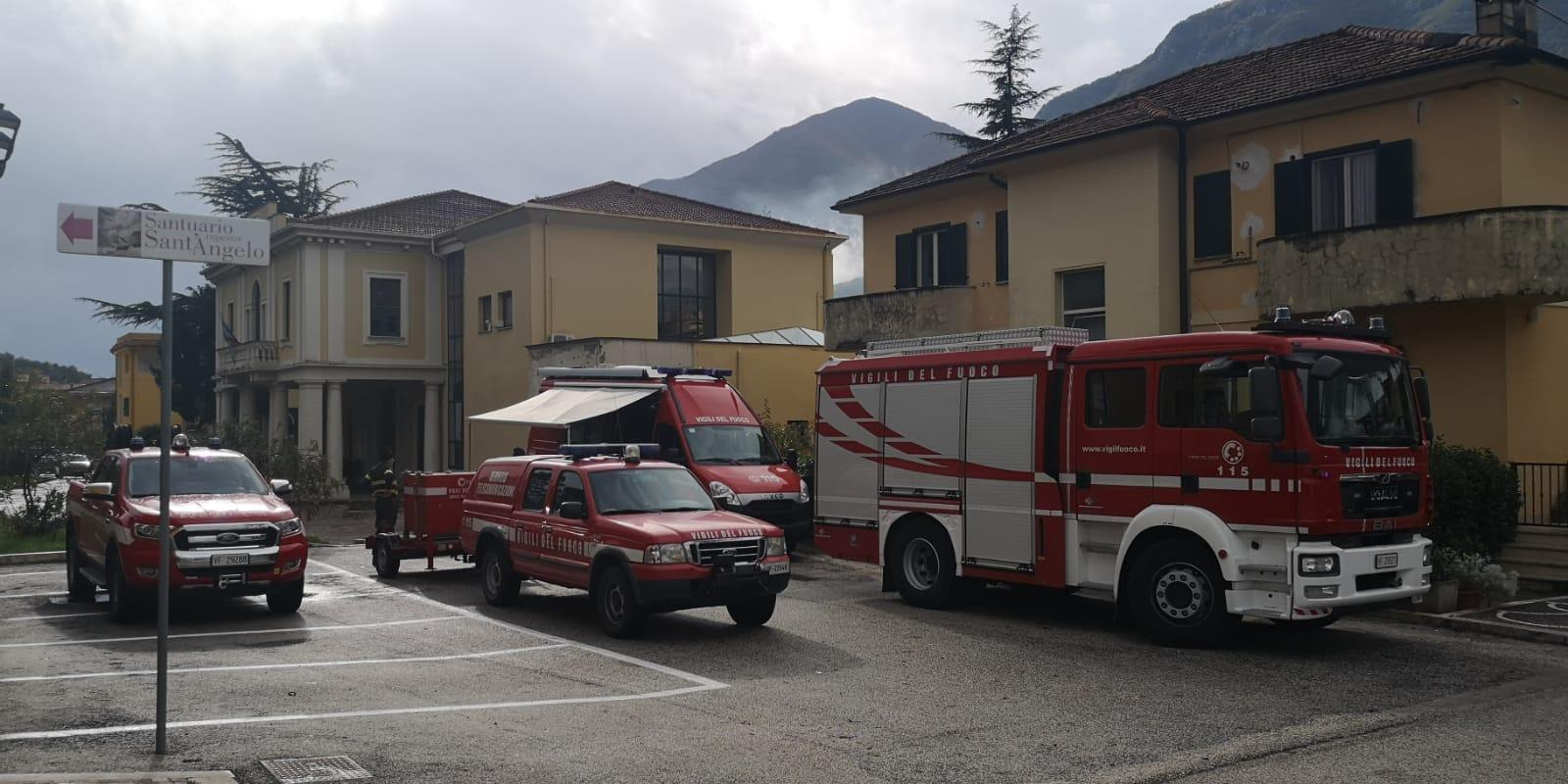 Smobilitato il dispositivo di soccorso dei Vigili del Fuoco a Balsorano