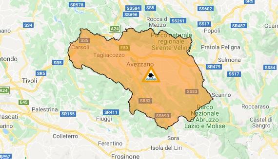 Maltempo, criticità per i giorni 16 e 17 novembre, allerta arancione per le zone interne della regione