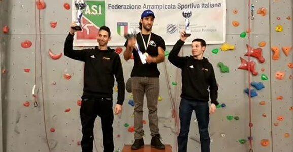 Un grande Federico Di Felice si conferma Campione Italiano di Paraclimbing