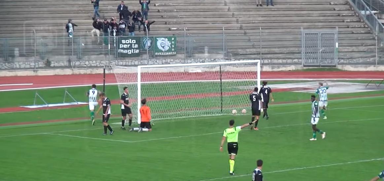Primo successo fuori dalle mura amiche per l'Avezzano Calcio, battuto 2 a 0 l'Atletico Calcio Porto S.Elpidio