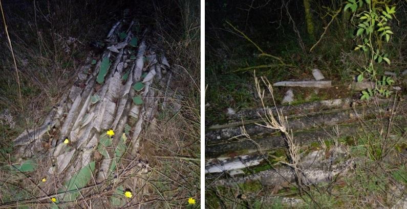 Caruscino, amianto abbandonato su campi coltivati