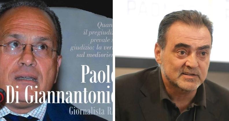 """Cronache dal Fronte"""" a Celano, un dibattito sul """"Medioriente"""" con Amedeo Ricucci e Paolo Di Giannantonio"""