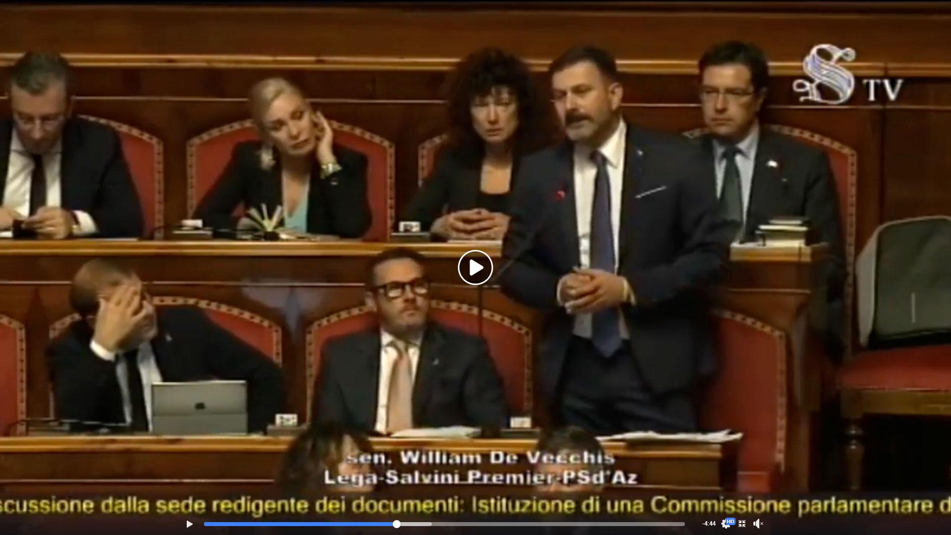 Senato istituisce commissione d'inchiesta sul lavoro, l'onorevole De Vecchis cita Terre Marsicane