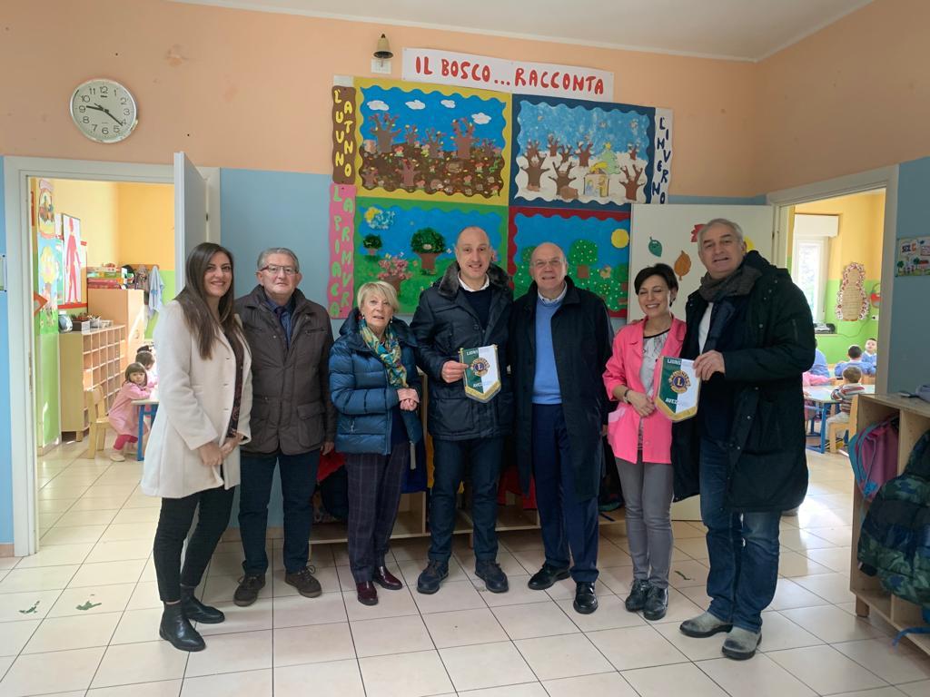 Importante iniziativa del Lions Club Avezzano al fianco nelle scuole marsicane