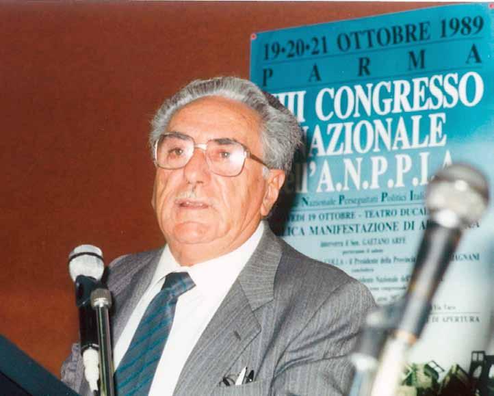 """Cent'anni fa nasceva Giulio Spallone, cinque pagine di storia pubblicate su di lui da """"L'Antifascista""""quando si spense all'età di 94 anni"""