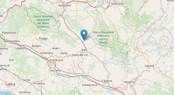Sciame sismico nella Valle Roveto, a Balsorano scuole chiuse per ragioni di sicurezza