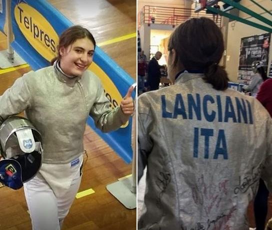 Scherma, l'avezzanese Maria Chiara Lanciani impegnata nella Prima Prova Nazionale Giovani a Ravenna
