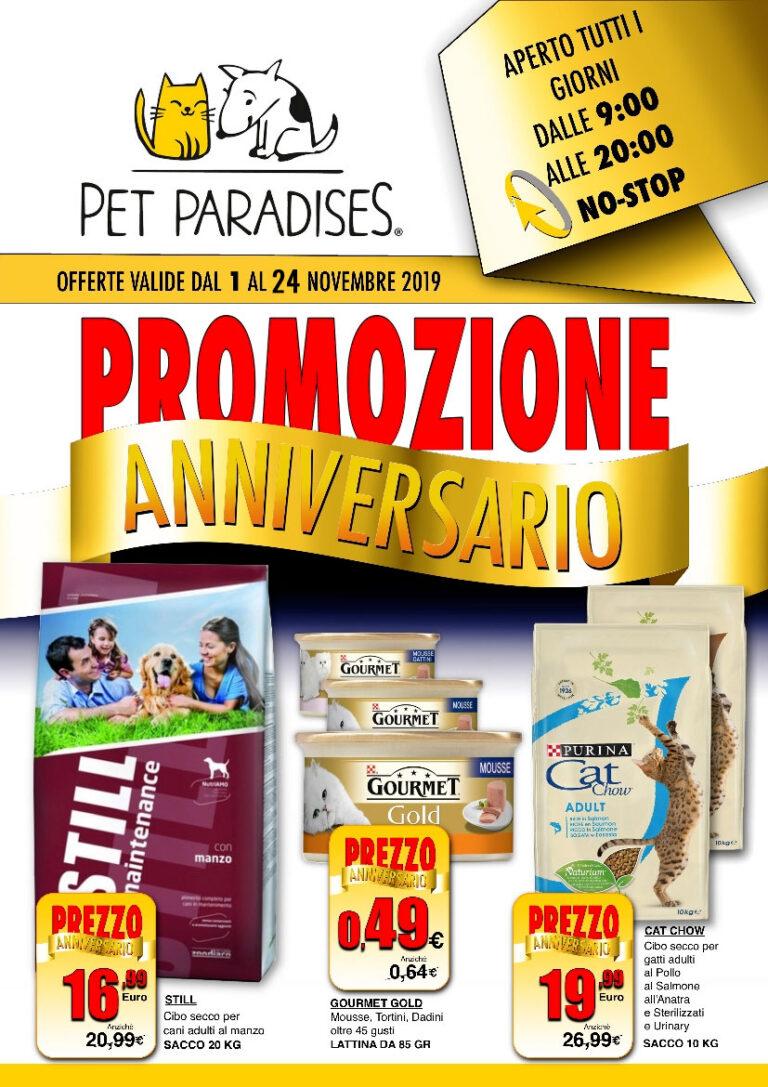 Pet Paradises® di Avezzano: inizia la Grande Promozione Anniversario