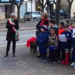 Anche a Scurcola Marsicana c'è la panchina rossa, simbolo della lotta contro la violenza sulle donne