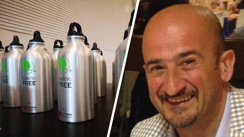 """Il comune di Collarmele aderisce alla campagna Plastic Free, Mostacci: """"ci stiamo attivando per fornire bottigliette in alluminio agli studenti ed ai dipendenti del comune"""""""