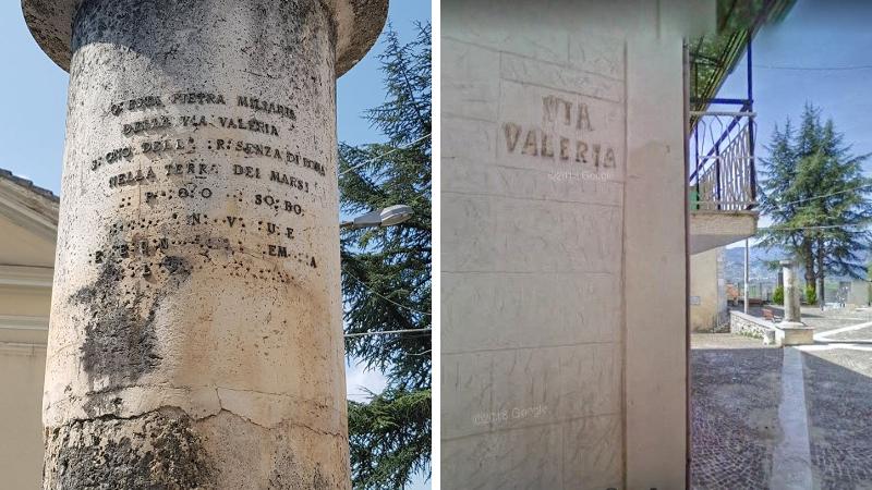 L'antica Via Valeria partendo da Roma arrivava a Pescara passando anche per Sorbo