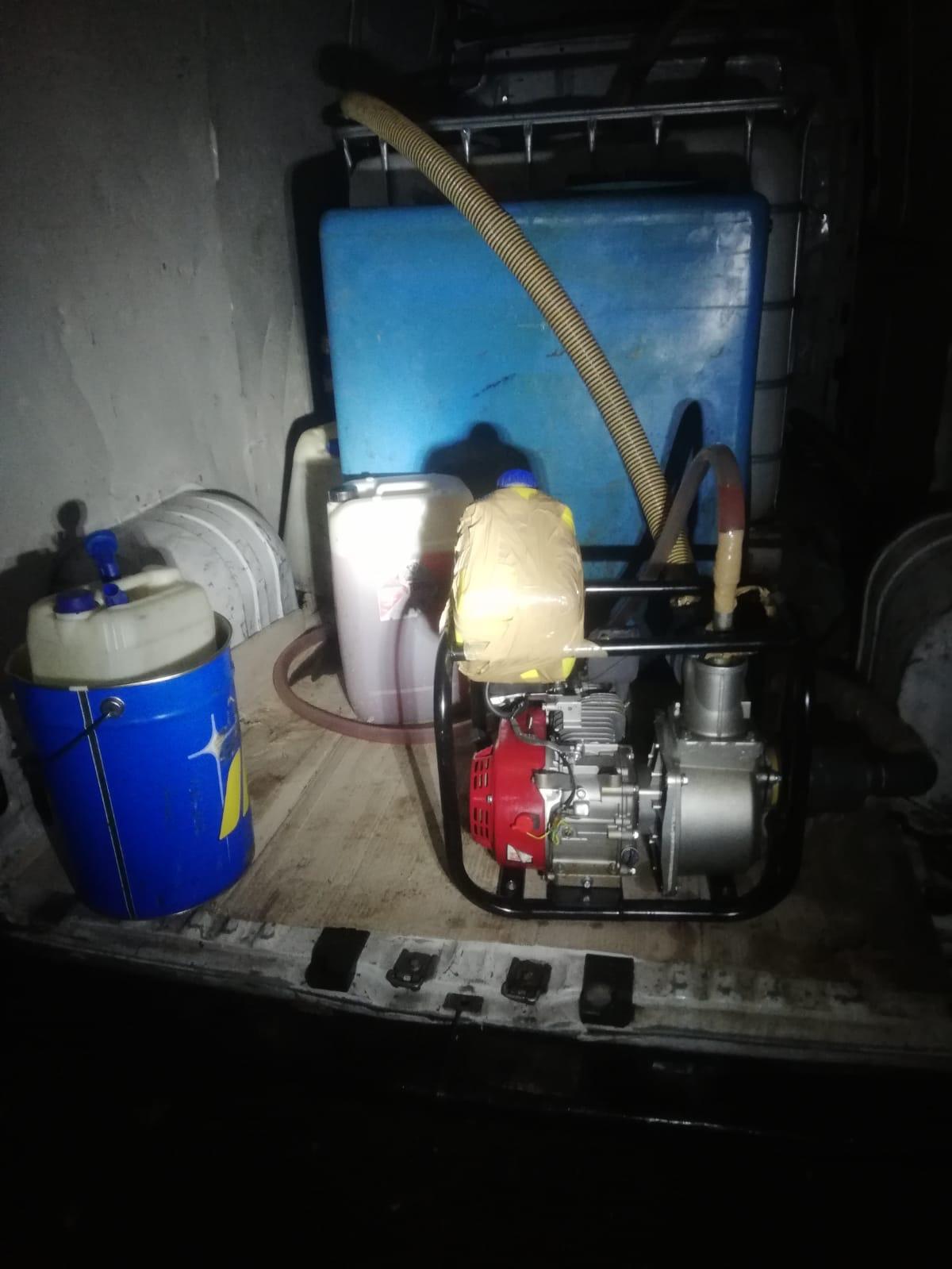 Sorpresi a rubare gasolio dalle cisterne, denunciati due giovani napoletani