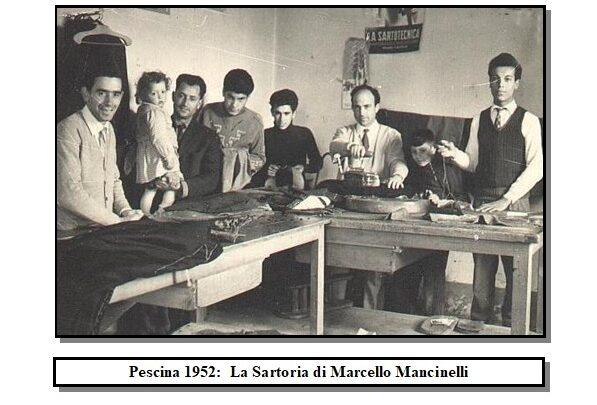 """13 novembre la festa degli """"Uomini Buoni""""marsicani, un racconto in ricordo dei sarti pescinesci"""