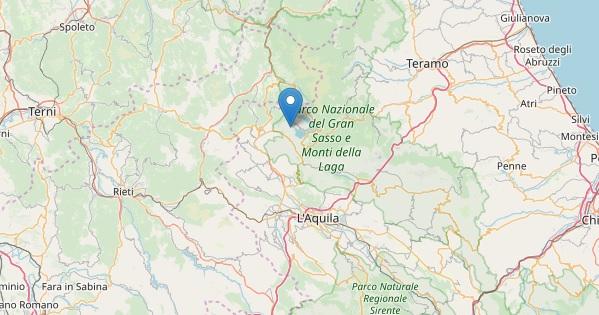 Scossa di terremoto 3.2 a L'Aquila, epicentro Capitignano