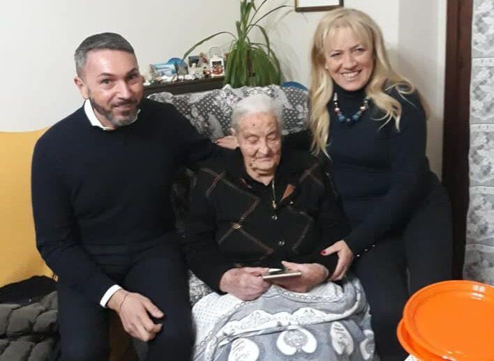 Nonna Carmela di Tagliacozzo compie 100 anni