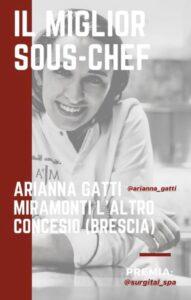 Identità golose 2020: il miglior sous chef è la marsicana Arianna Gatti