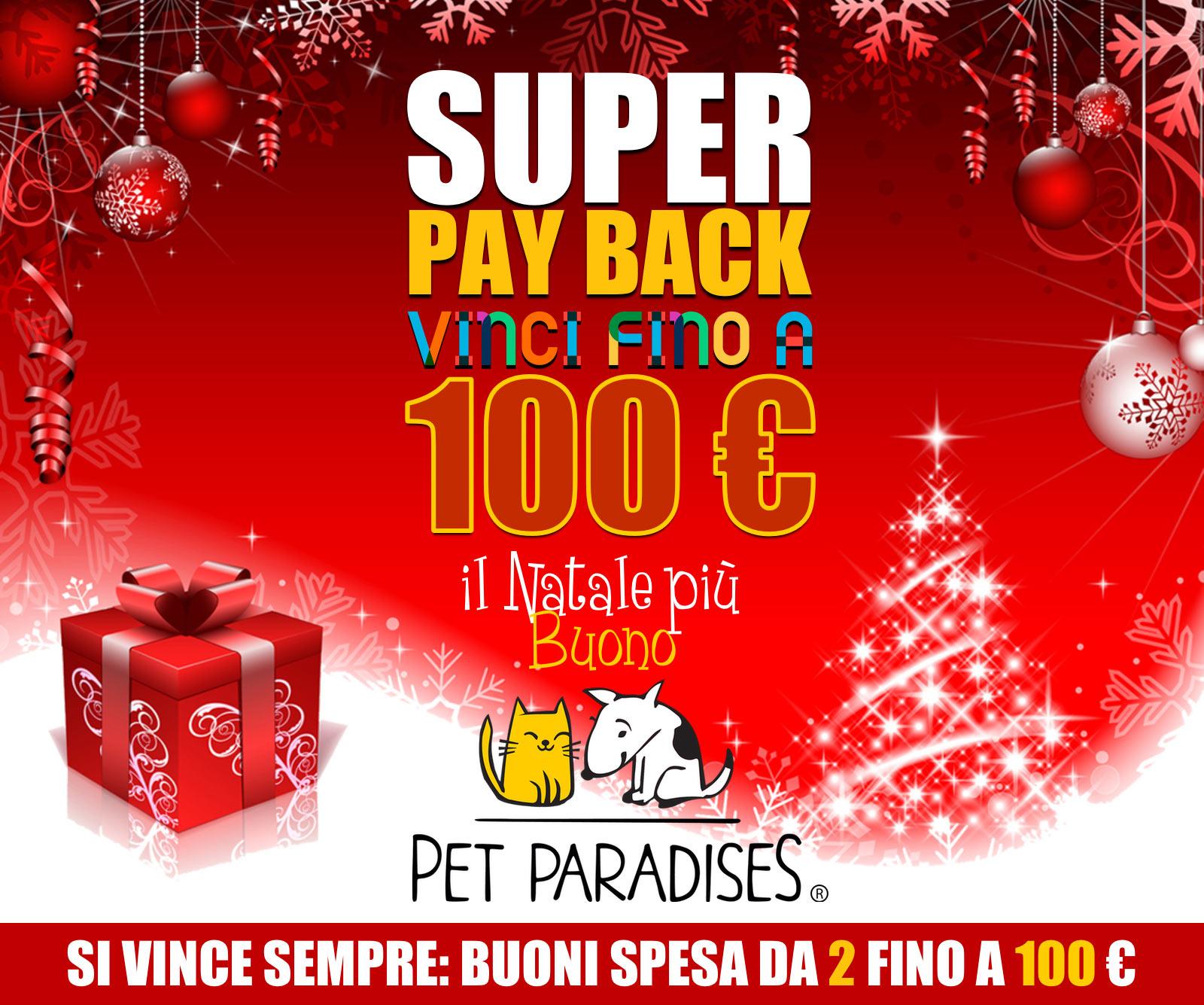 Pet Paradises® augura Buone Feste a tutti con il suo Gratta & Vinci SICURO!