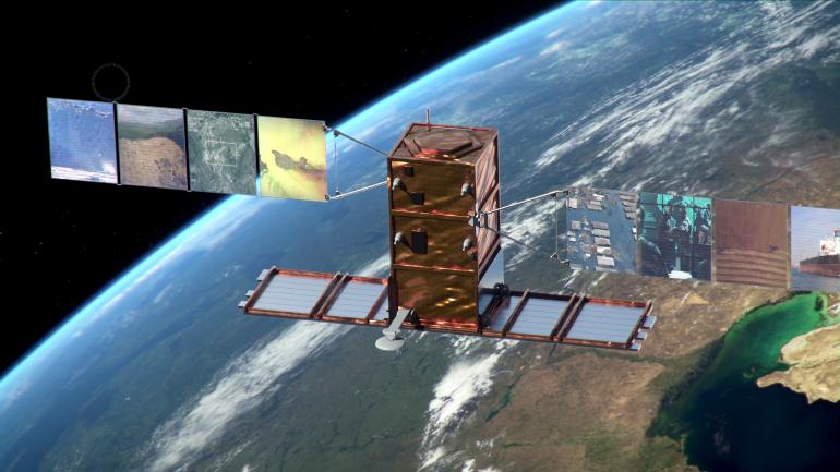 Lanciata la Soyuz, a bordo anche il satellite italiano Cosmo SkyMed
