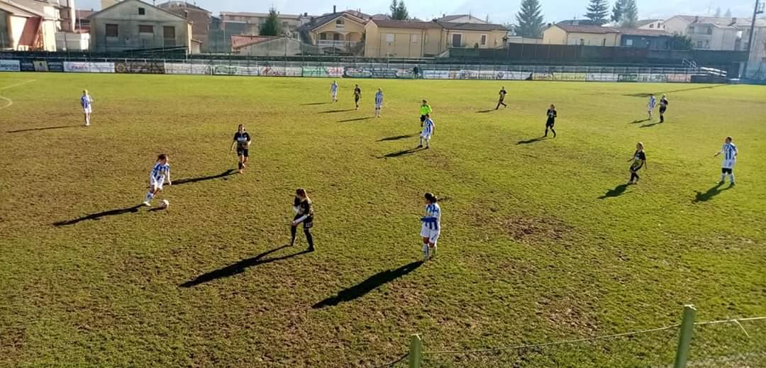 L'Avezzano Calcio femminile vince contro il Pescara