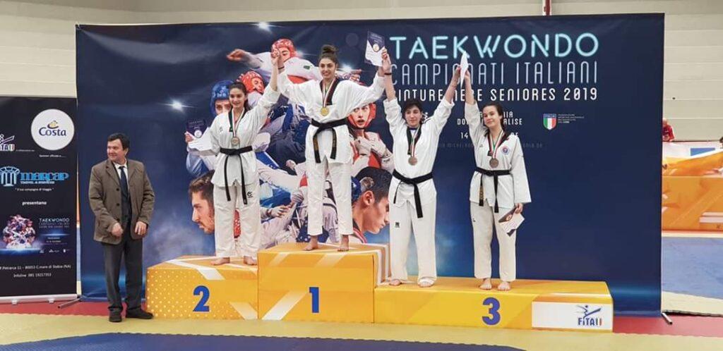 Taekwondo, ancora una vittoria per la marsicana Natalia D'Angelo