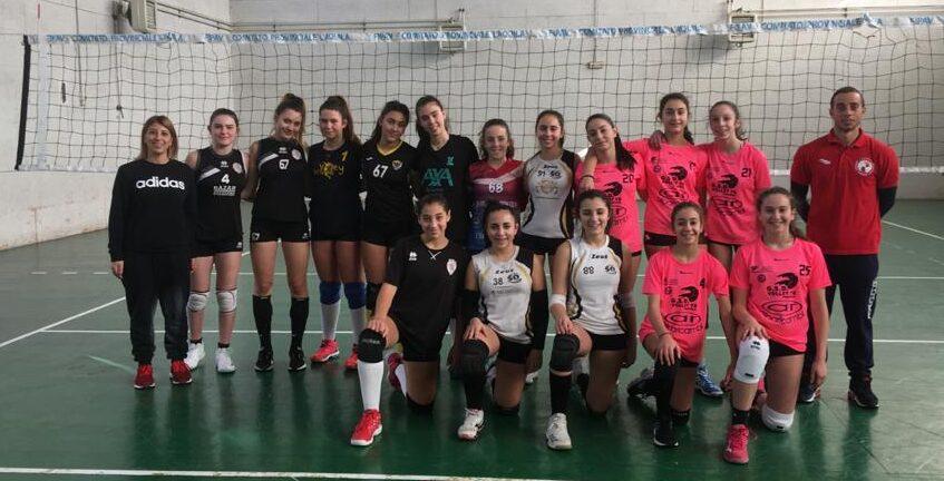 Avezzano di nuovo sede di allenamento delle Rappresentative Femminili Territoriali 2019/2020 di pallavolo