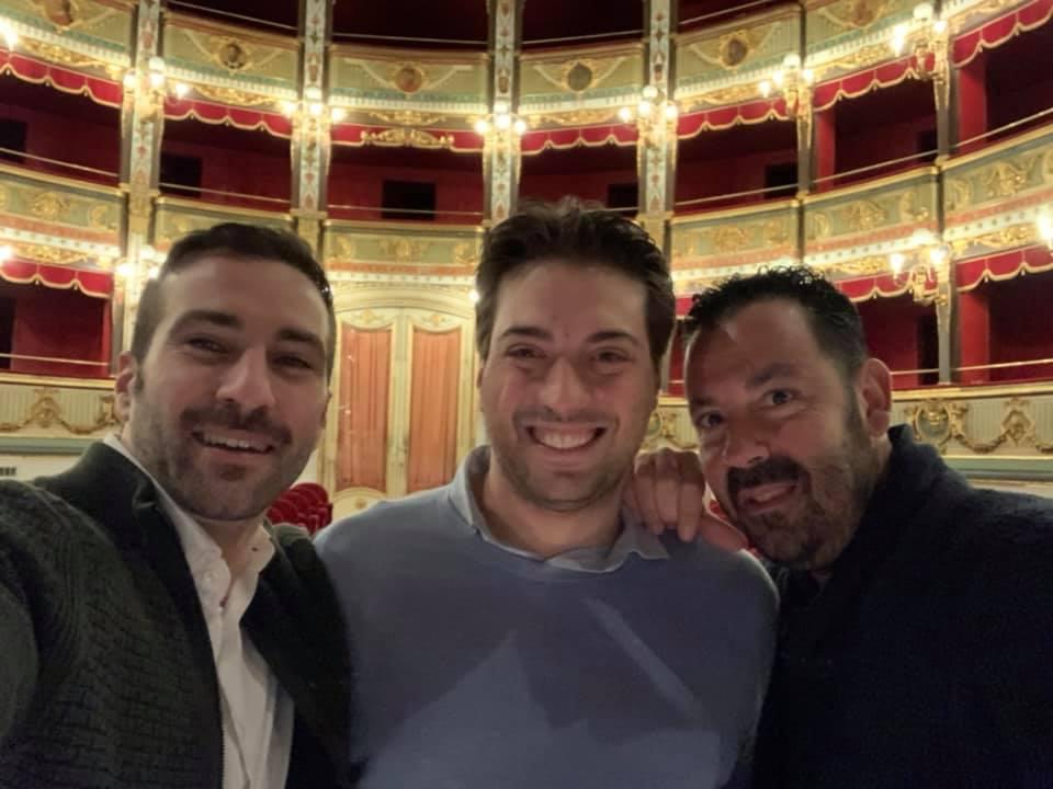 Maratona di concerti per Jacopo Sipari a Capodanno con l'orchestra di Daniel Oren