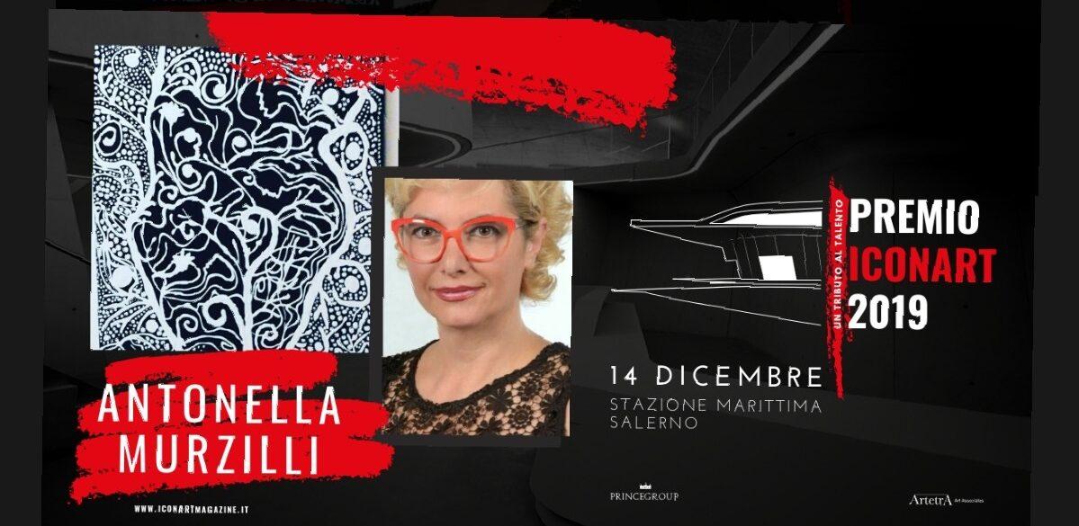 Premio Icon Art 2019 all'artista marsicana Antonella Murzilli