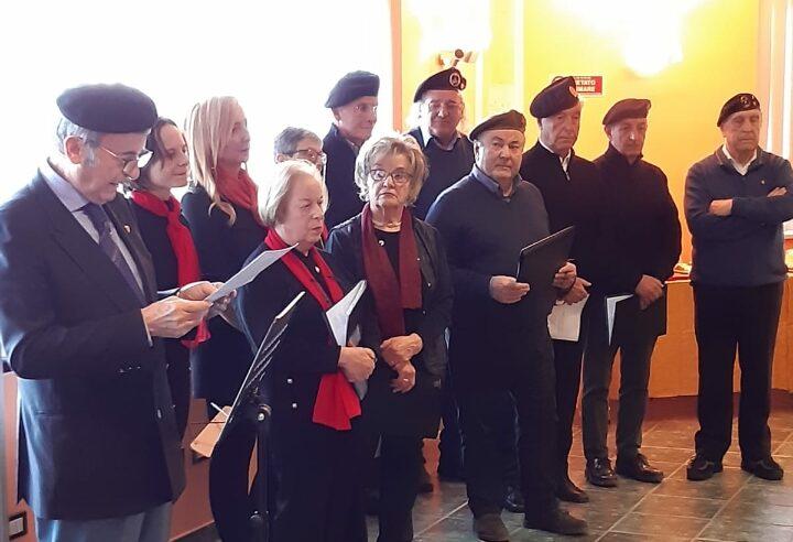Esibizione del Coro Unuci nella Residenza dei Marsi