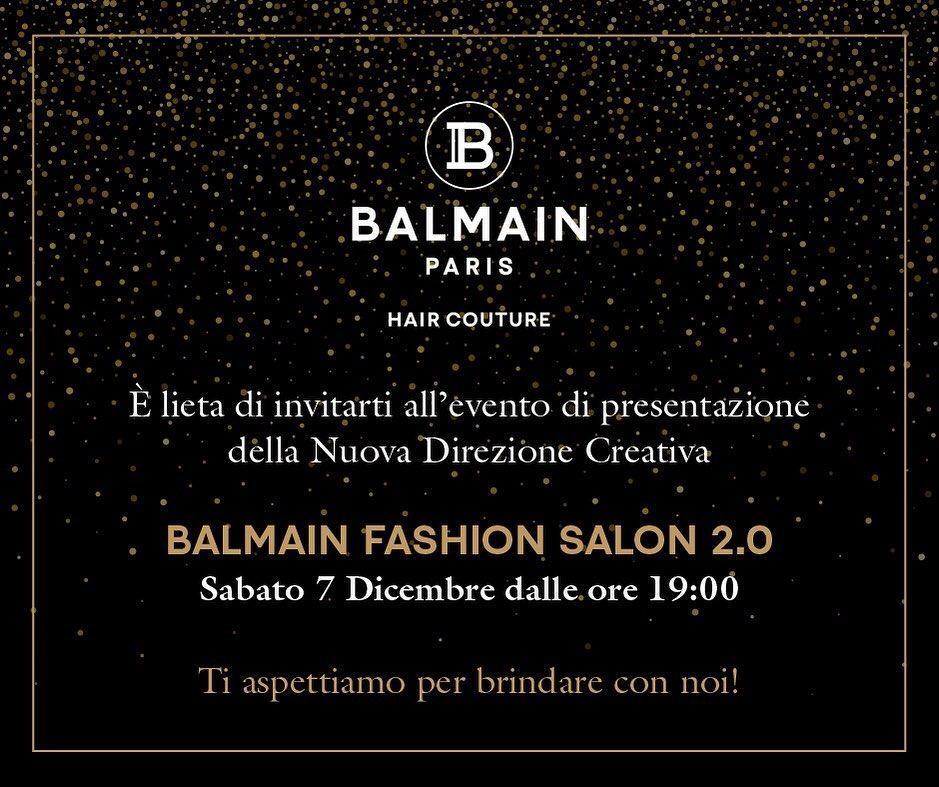 Innovazione, creatività ed eccellenza, nasce ad Avezzano Balmain Fashion Salon 2.0.