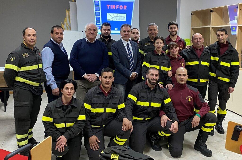 Avezzano: terminato il corso di formazione dei Vigili del fuoco volontari per le sedi di Carsoli e Popoli