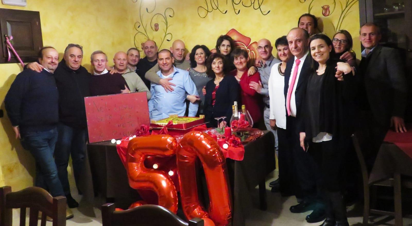 La classe 1969 di Scurcola Marsicana festeggia 50 anni