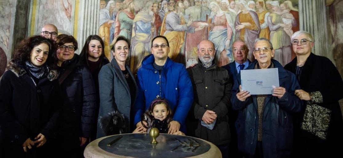Tornano restaurati i tre affreschi rinascimentali nella Chiesa di S. Maria in Valleverde a Celano