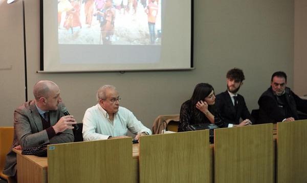 """""""Cronache dal Fronte"""", storie di dolore e immagini di guerra raccontate dai giornalisti Rai Amedeo Ricucci e l'abruzzese Paolo Di Giannantonio"""