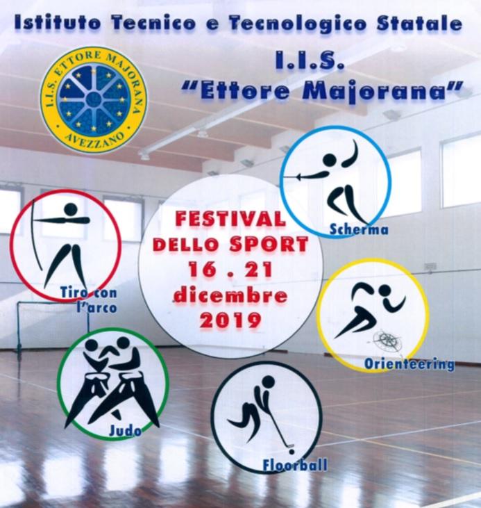 """Festival dello sport all'Istituto """"Ettore Majorana"""" di Avezzano"""