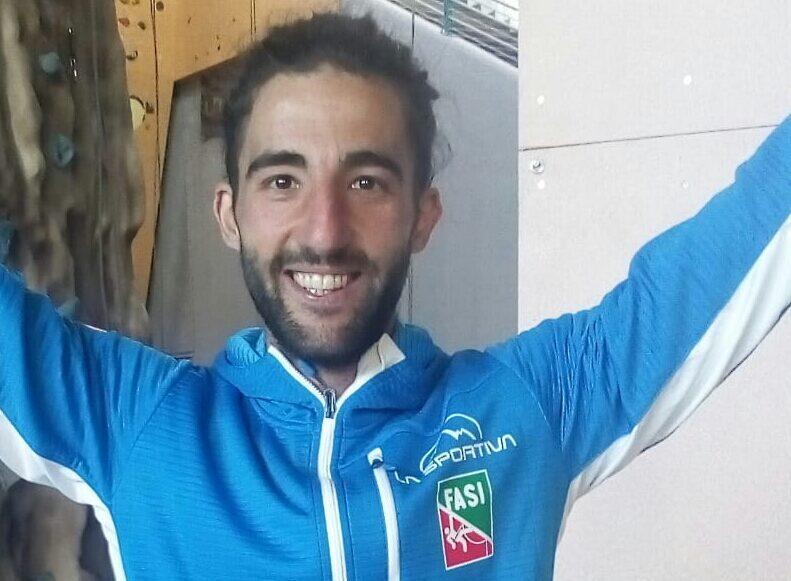 Federico Di Felice premiato dal CONI per i risultati sportivi ottenuti nel 2019